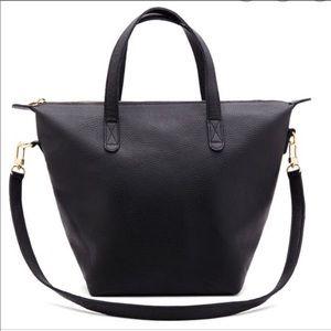 Cuyana Small Carryall Tote Bag-Black